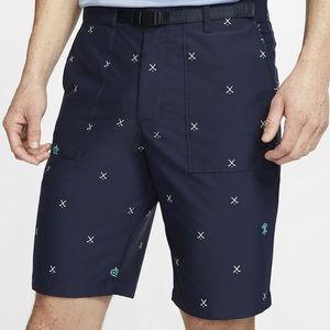 Men's Golf Shorts Nike Flex Blue